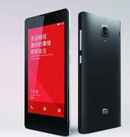 Ululato Original XIAOMI arroz rojo Hongmi 4.7 & #039; & #039; IPS HD Quad Core MTK6582 1,3 Ghz teléfono móvil MTK6589T 1GB RAM 4GB ROM WCDMA 3G