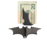 Wholesale Man stainless steel Batman quot Batarang quot Money Clip