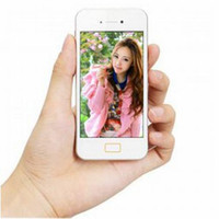 Wholesale 2014 HOT SALE I5 MTK6572 Dual Core Goophone phone i V S inch Screen android GSM GPS GHz Smartphone free case film