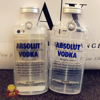 Luxury TPU Absolute VODKA Crystal Case Cover For iPhone5S 5 ...