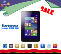 Wholesale Tablet PC Lenovo Miix2 inch Intel BayTrail Z3740 Quad Core windows px IPS Super Slim and Battery Life Tablet DHL Free