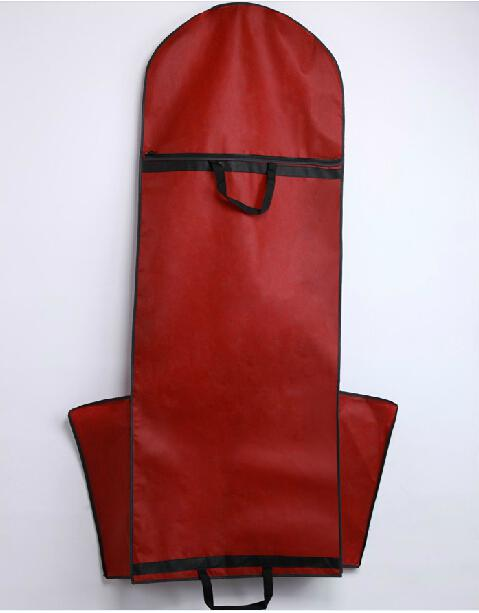 Thick bridal wedding dress bag garment cover travel for Wedding dress travel case