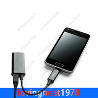 Wholesale 1 P Micro USB MHL Adapter to HDMI HDTV Adapter Converter Cable for Samsung NOTE N7100 S3 i9300 S4 i9300