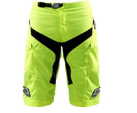 Wholesale Troy Lee Designs TLD High Quality Moto Shorts Bicycle Cycling Shorts MTB BMX DOWNHILL Motorcross Shorts with Pad Fluorescent yellow