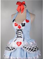 Wholesale Plus Size XS XL Sexy Alice In Wonderland Adult Halloween Costume Fancy Dress