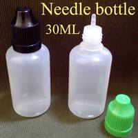 Plastic plastic bottles - PE ml Plastic Bottles Dropper Bottles for Eye Drops Essential Oil With Childproof Caps And Tips