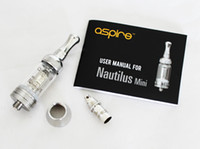 Cheap 100% Original Aspire new technology 2ML Nautilus Mini adjustable airflow Tank System BVC Coil Clearomizer atomizer
