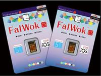 Wholesale Hot FalWok CS Default T Mobile Unlock sim card for iPhone S C Only Unlock USA T Mobile Carrier use G sim card work EDGE Internet pc