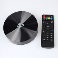 Wholesale Android TV Box Amlogic Quad Core Dual Band WiFi Smart TV Multimedia Player with Remote Contrl Set S82B Top Box for