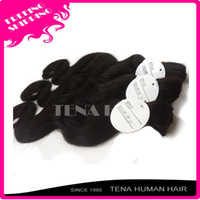 Wholesale Tena DHL brazilian bulk hair extensions without weft top quailty virgin remy body wave hair