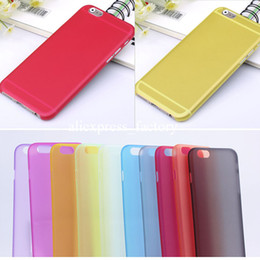 Wholesale 0 mm Slim Frosted Transparent Clear Soft PP Cover Case for iPhone S C S Plus inch Galaxy S5 S4 S3 Mini Note