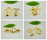 Alloy anchor fasteners - DIY Set Gold Plated End Cap Anchor Hook Toggle Clasp Clousure Fastener Buckle Finding