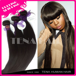 Wholesale DHL Tena A factory price virgin brazilian hair bundles good quality virgin hair