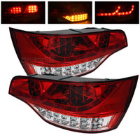 Tail light Assembly audi taillights - car styling07 Audi Q7 Audi Q7LED taillight assembly dedicated full LED taillights highlight taillights after Xiushanparking led