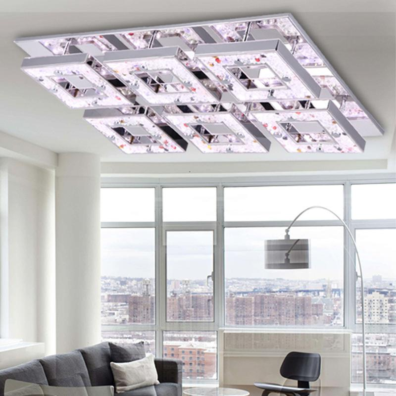 Bright Ceiling Lights: 2017 Led Ceiling Lights /Love The Snow Bright Led Crystal Ceiling Modern  And Stylish Living Room Bedroom Hotel Lobby Lights From Ledlife, $211.26    Dhgate.,Lighting