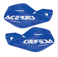 Wholesale Acerbis Uniko blue Plastic Hand Guards Fits Kawasaki Dirt Bikes Motorcycles