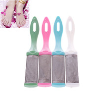 Wholesale New Foot Rasp Cuticle File Double Sided Callus Remover Care Rub Polish Pedicure Tool