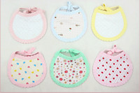 Cotton baby wipes - 100 cotton children baby bibs saliva towel babies Wipes Burp Cloth Scarf