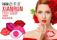 999 in stock apple lip gloss - Fresh fruit color Apple apple grape mango Lip Balm beautiful lips gloss taste makeup set