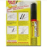 Wholesale 200pcs Fix It Pro Clear Car Scratch Repair Remover Pen filler sealer Simoniz clear coat applicator for Simoniz