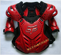 Wholesale 2014 NEW NEW HOT FOX Full Body Armor Motorcycle Jacket Spine Chest racing cycling biker armour Armor Motor Motocross protector RED color