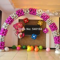 Wholesale Hot Sale Arch Decoration Foil Balloon cm Four Heart Spheres For Promotion Activity Arch Decor