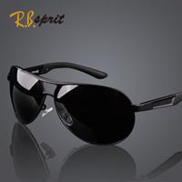 Wholesale 2014 New Cool Men s Polarized Sunglasses High Quality Brand Driving Aviator Fashion Eyewear Sun Glasses With Box