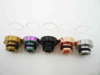 Cheap Organic Glass Drip Tip Best electronic cigarette