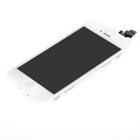 Wholesale New LCD Screen Display Touch Digitizer Assembly Fit For iPhone G iPhone5 apple white or black lcd