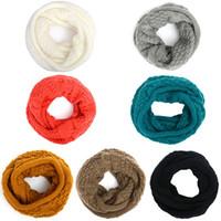 Wholesale 2014 new winter warn fashion braided knit acrylic scarf scarves shawl