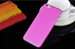 Wholesale For iPhone G Air inch mm Super Thin Slim Matte Frosted Transparent Clear Soft Plastic PP Cover Case Skin MOQ