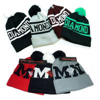 Beanie/Skull Cap boy london - 2014 Autumn Winter Men Women Hats Black Hiphop Knitting Hats GD Boy London Beanie Skull caps Bigbang color mixed