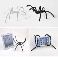 Universal   Cell Phone Holder Flexible Universal Spider Mount and Stand For iPhone 4,4S 5 Sumsung phone and MP3 Ipad Table PC