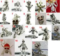 skeleton key - Classic D Skull Riding Motorcycle keyring Simulation Model Skeleton Motorbike Keychain Key Chain Ring Keyring Keyfob