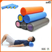 Wholesale Physical Therapist recommended non toxic quot long High density Rumble Foam Roller for Yoga and Pilates exercise Muscle rollers