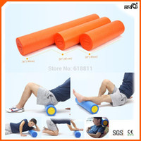 Wholesale environmental friendly odourless inches High density Yoga pilates Rumble Foam Roller for massage with colors custom logo