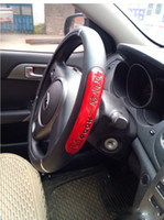 Wholesale No Auto Accesories Eco synthetic leather car steering wheel cover can mix sizes Volante Manubrio