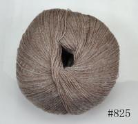 Yes new colorful Wholesale Worsted 100%Cashmere Cotton Silk Knitting Yarn Sweater Silk wool cashmere warm soft yarn Knitting(#825)