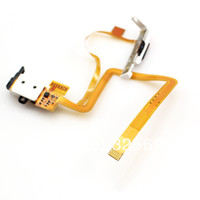 Wholesale 1x Headphone Audio Jack Headset Socket Flex Ribbon Cable Hold Switch For i th Gen Classic GB