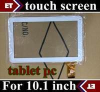Wholesale SGpost Replacement original Touch Screen with Glass lens for inch tablet pc A31S RK3188 Quad core black and white TC10