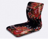 Living Room Chairs cheap furniture - Meditation Backrest Chair Asian Furniture Design Six Color Cheap Japanese Style Living Room Tatami Zaisu Legless Chair