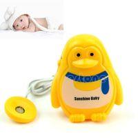 29308 Wet Reminder  Free Shipping Cute Adult Baby Bedwetting Enuresis Urine Bed Wetting Wet Diaper Alarm +Sensor