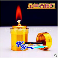 alcohol lamp - Smoking Gold Edition stainless steel mini alcohol lamp hookah accessories