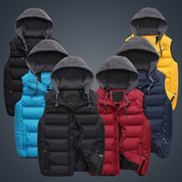 Wholesale The new men s clothing in during the spring and autumn winter Brand clearance Collar leisure couple vest Outerwear Coats