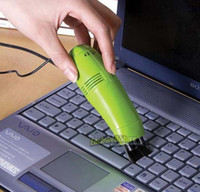 USB Cleaner   New Portable Mini USB Vacuum Keyboard Cleaner Dust Collector Laptop Computer Free Shipping