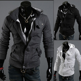 Wholesale hoodie Hot warm Collar new brand men s Jackets warm coat hoodie cotton warm collar cap Men
