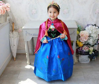 TuTu Summer Ball Gown Frozen Movie fantasia infantil anna elsa princess cosplay anime halloween christmas Character fashionale dresses party baby girl Wholesale