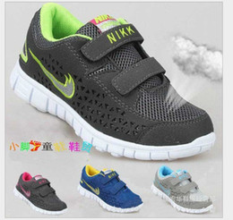 Wholesale 2014 hot sale Boys And Girls Sneakers Children Running Shoes For Kids Unisex children sneaker children brand shoes