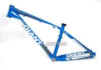 Wholesale 2012 GIANT XTC FR Size quot M Original ALUXX SL Alu quot ER MTB Mountain Bike Bicycle Parts Frame Blue White Silver
