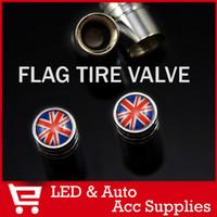 Yes ZexusAuto Flag Valve Cap 4PCs set Universal fit Auto Truck Car Aluminum Tire Tyre Wheel Rim Valve Stem Caps Italy Germany UK National Flag